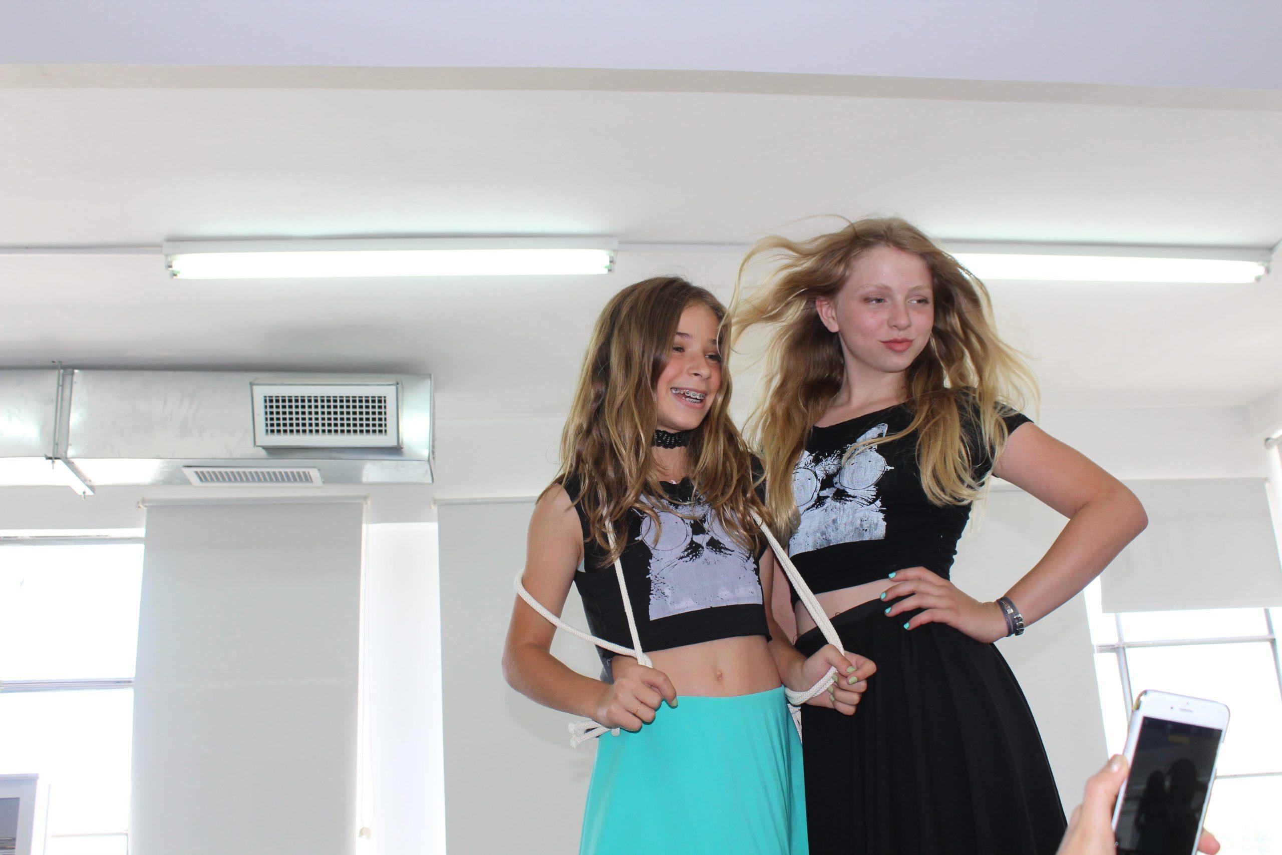 עיצוב אופנה לילדים